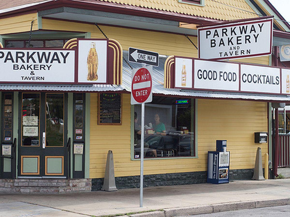 Parkway Bakery & Tavern.