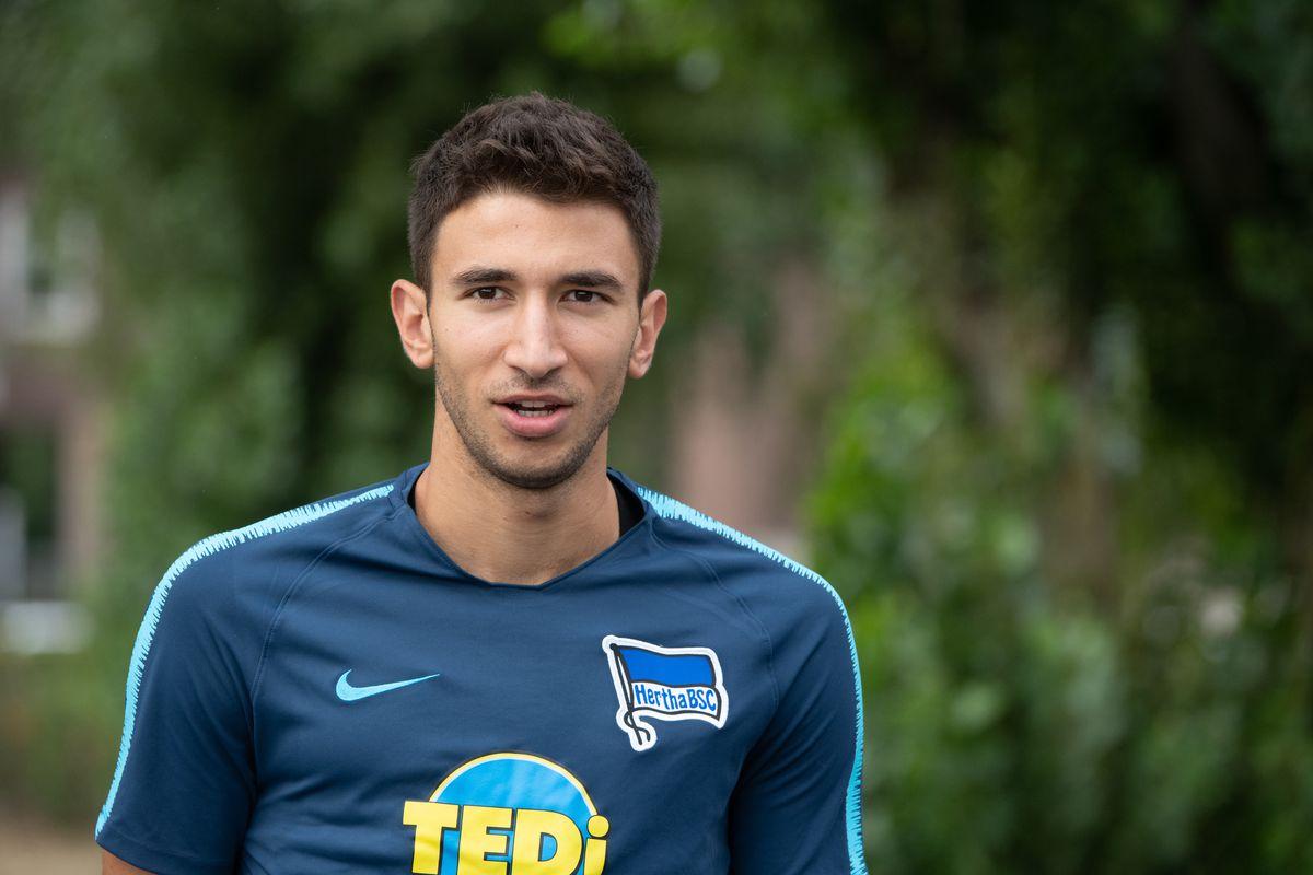 Soccer: Bundesliga, Training Hertha BSC Marko Grujic