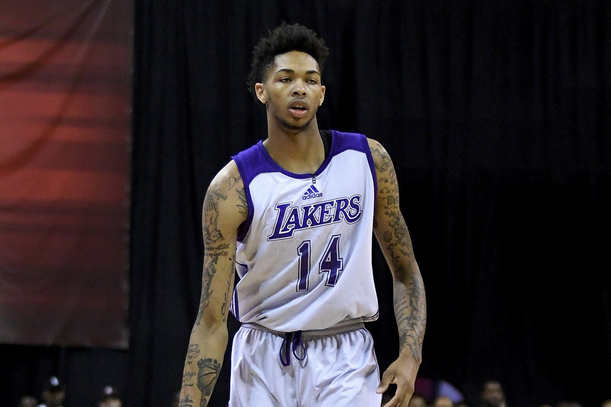 lakers release official las vegas summer league roster; brandon