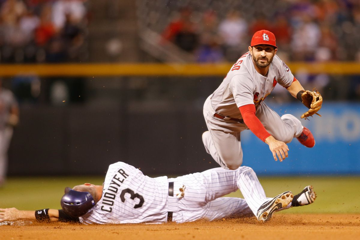 Michael Cuddyer is the latest Rockie to get hurt, leaving midway through Wednesday night's game.