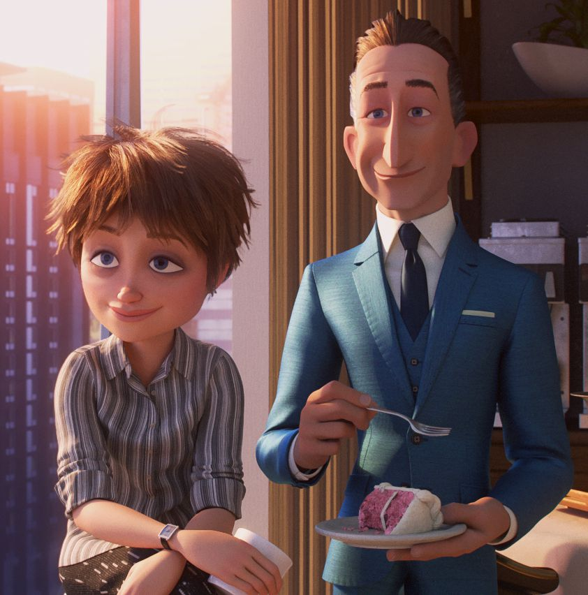 evelyn and winston in incredibles 2
