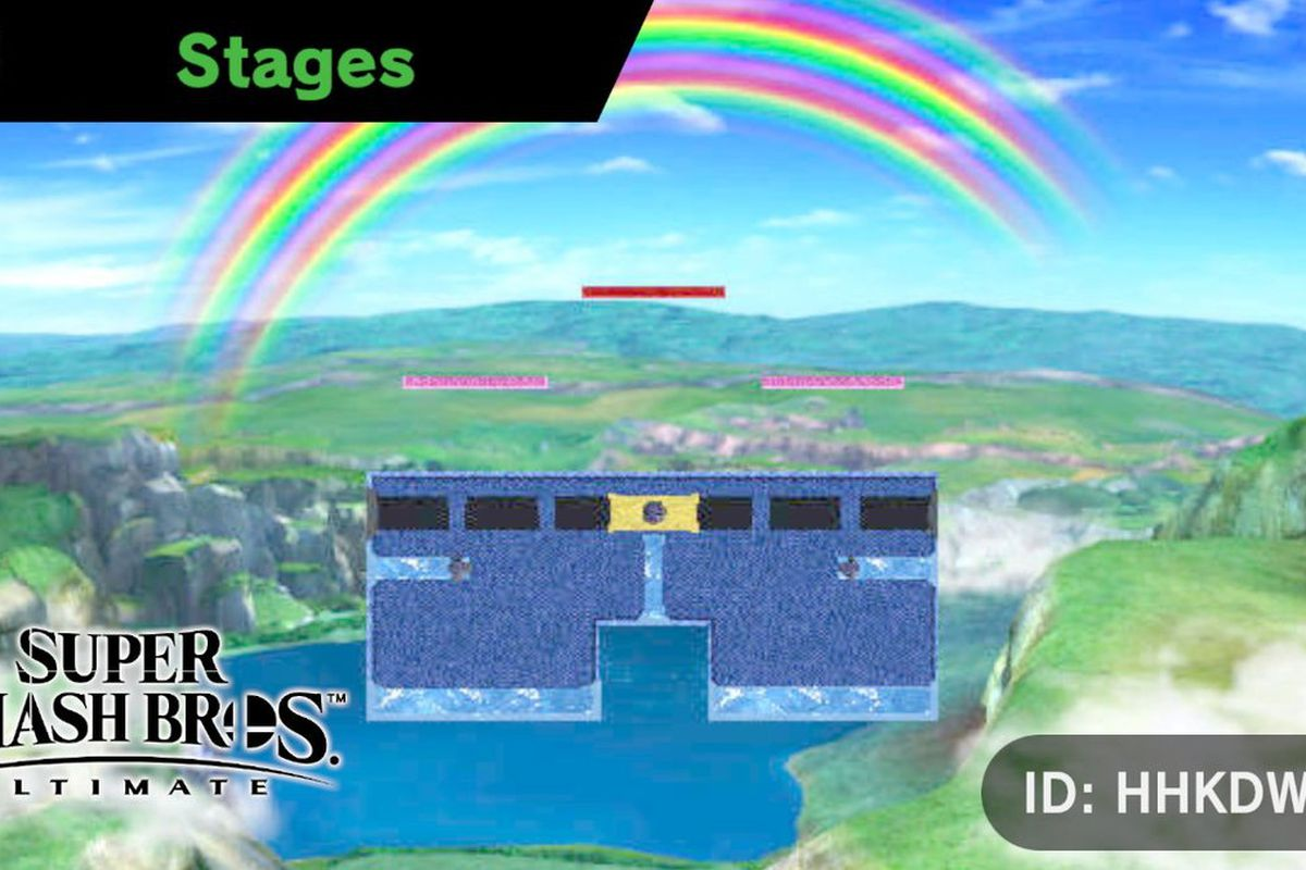 Smash Bros  stage builder brings the inevitable: memes