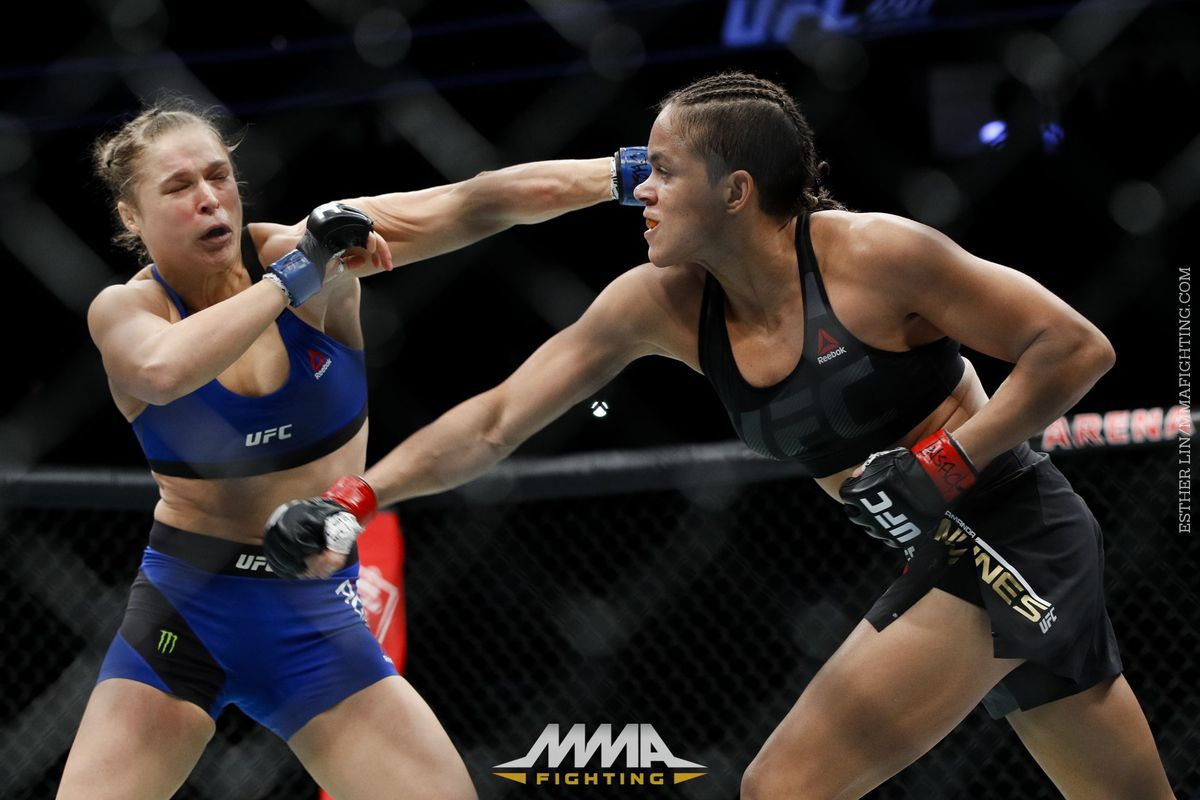 Amanda Tate miesha tate says amanda nunes has the power to knockout cris