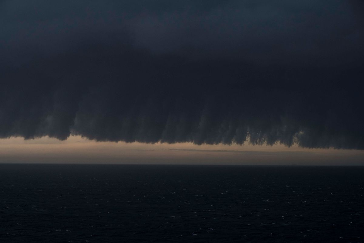 Severe Weather Front Approaches Sydney