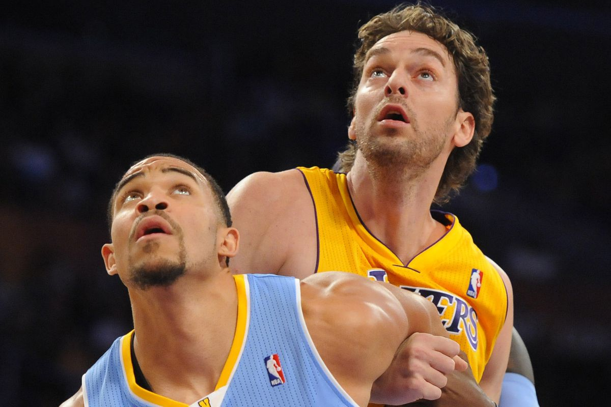JaVale McGee ... working inside out
