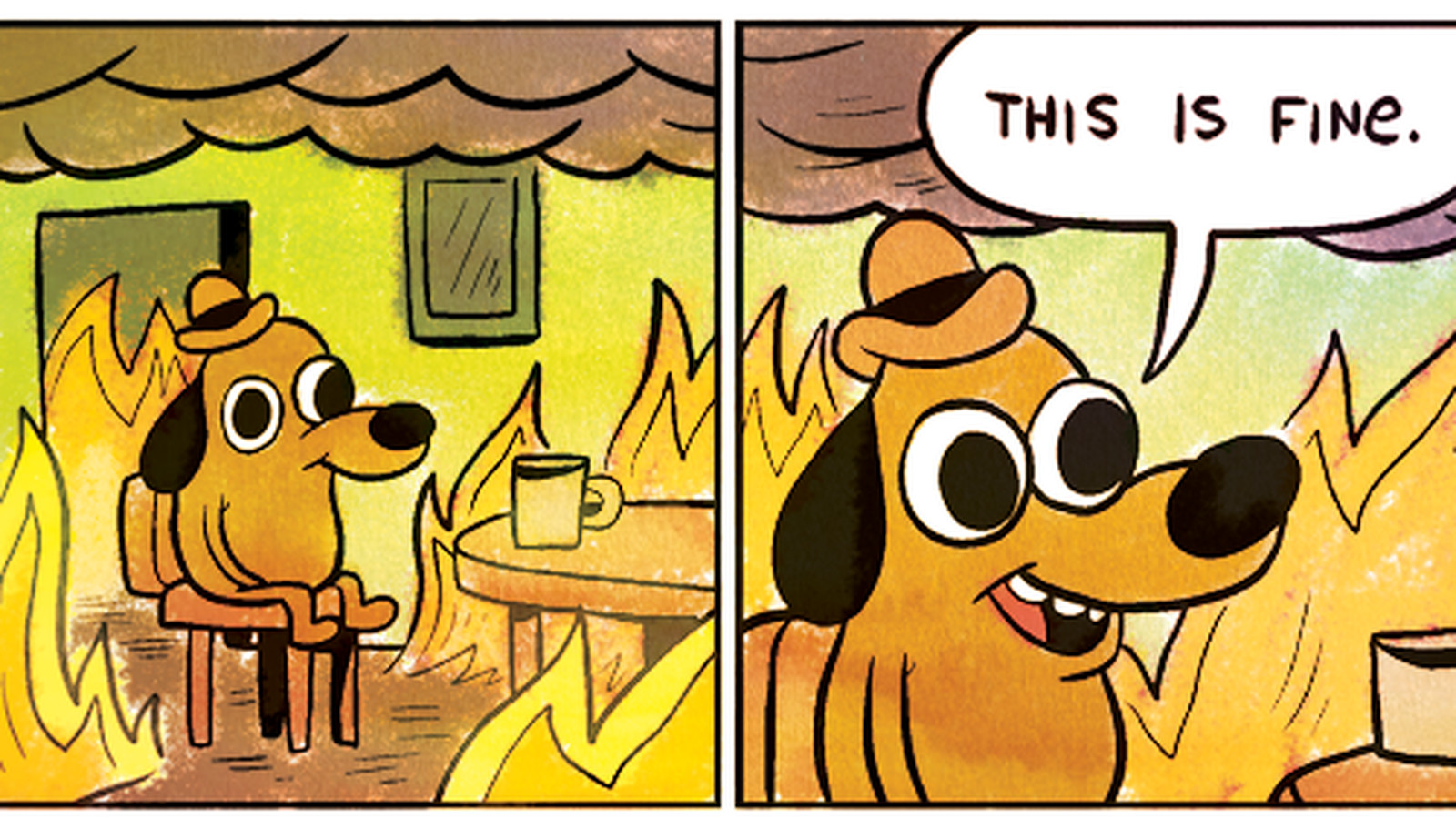 """Why the GOP Twitter couldn't pull off the """"This is fine ..."""