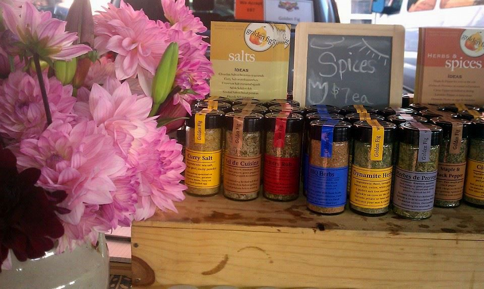 Golden Fig Spices. Photo courtesy The Golden Fig Facebook page