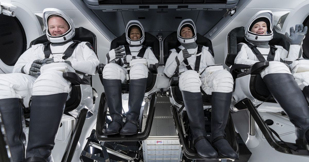 SpaceX is about to send its first crew of private citizens to space – The Verge