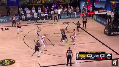 Screen Shot 2020 09 23 at 8.39.37 AM - Jamal Murray's pass to beat the Lakers was his best play of the night