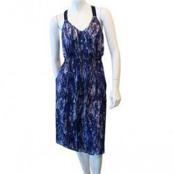 Dewi Printed Dress in Multi, $229 (was $575), Theyskens' Theory, Barney's Co-Op Chelsea<br />(image via shopzoeonline.com)