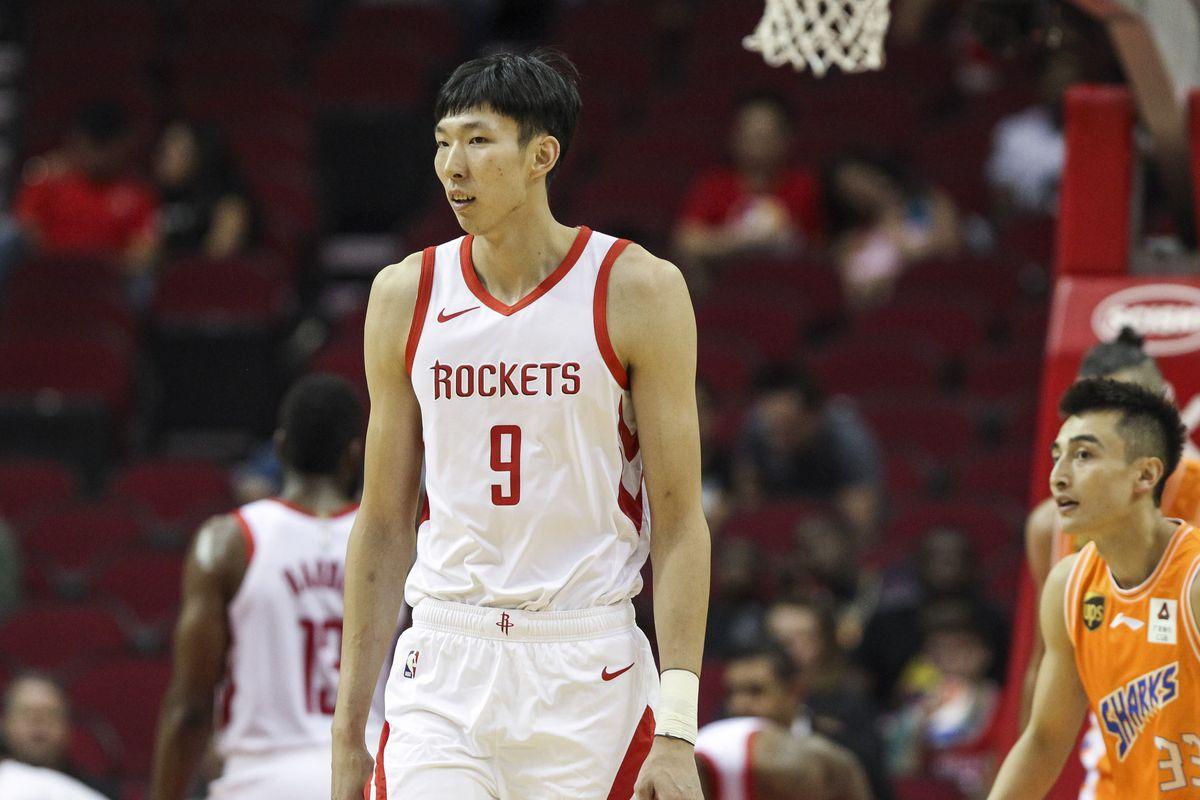 Ex-Rocket Zhou Qi back playing in China