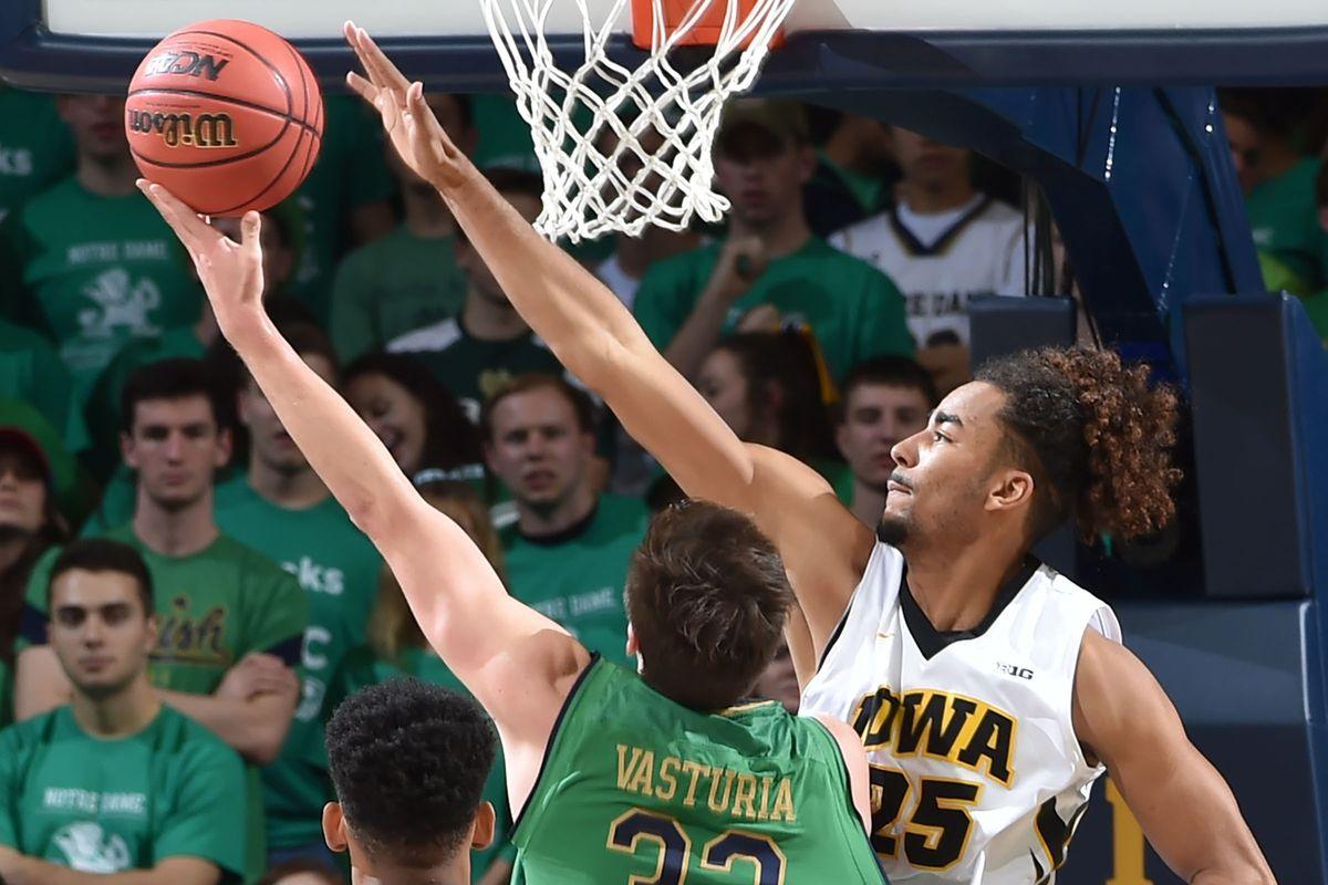 NCAA Basketball: Iowa at Notre Dame