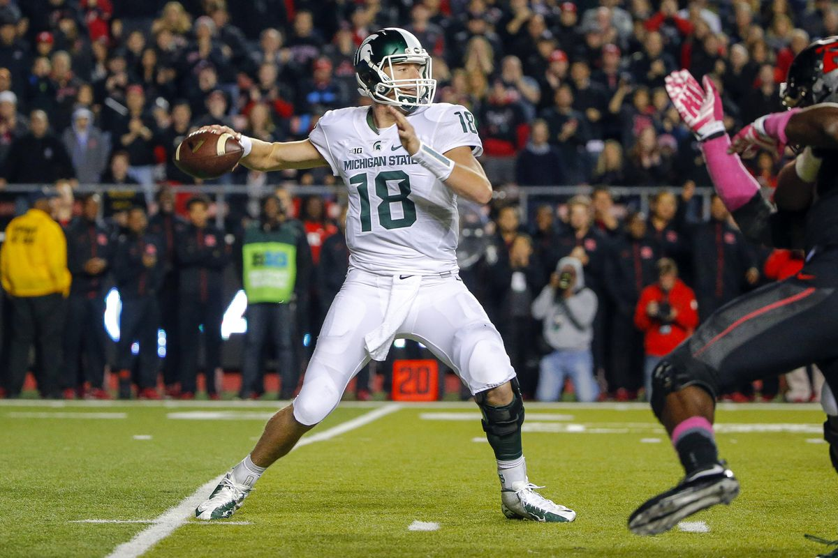 Connor Cook and Michigan State will try and end Michigan's three-game shutout streak