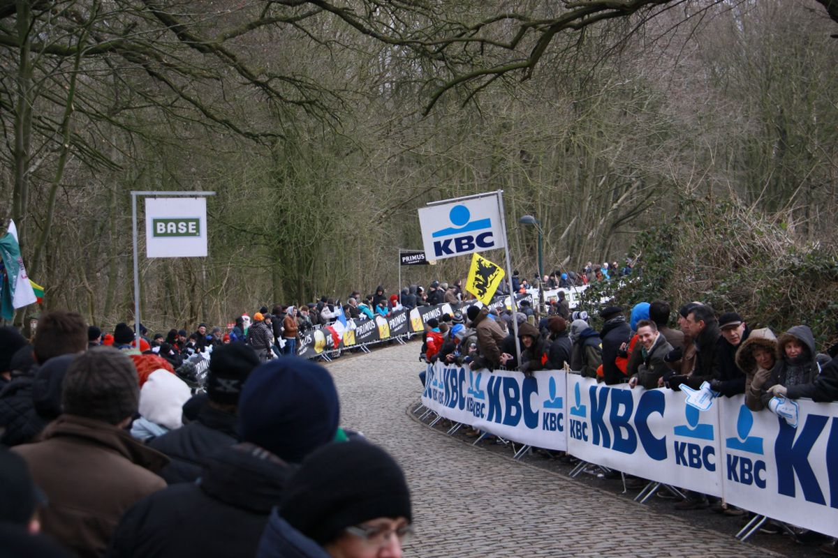 The iconic Kemmelberg is the crux of the race on Sunday.