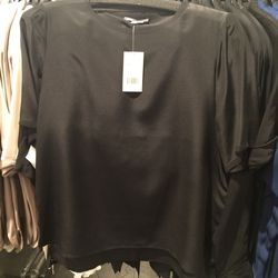 Silk blouse, size XS, $79 (was $195)