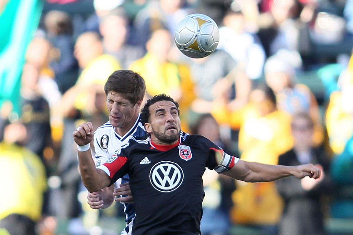 It was a rough day for DeRo and D.C. United, who look to turn it around against Vancouver.