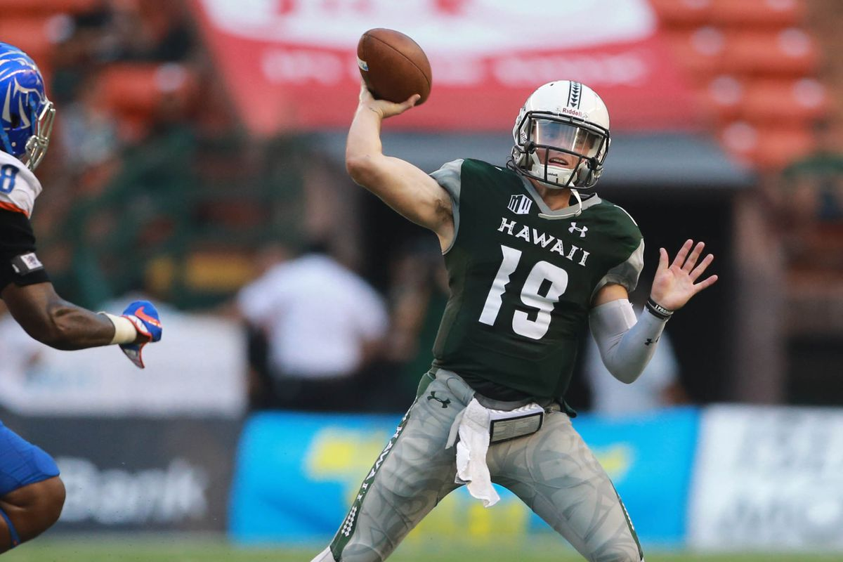 648d58cbef5 Hawaii Rainbow Warriors football is actually exciting again ...
