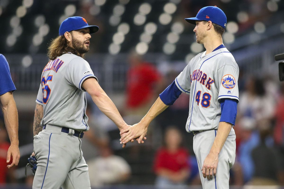 Mets vs. Braves Recap: deGrom dominates, offense gives him run support