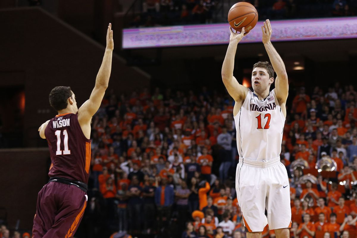 Considering the amount of room Joe Harris has here...he probably made this shot.