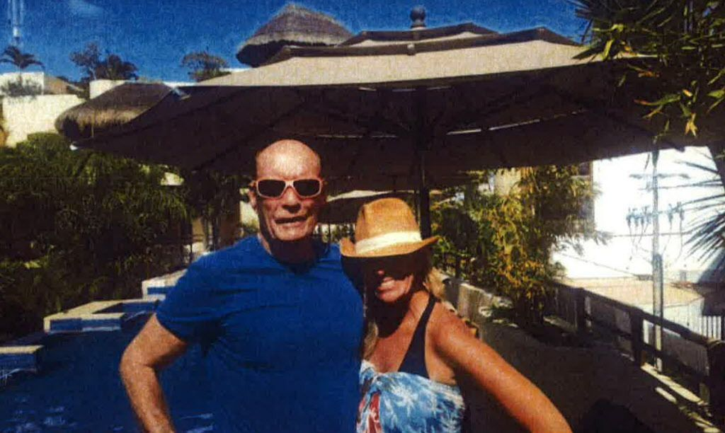 Former Chicago Board of Trade chairman Patrick Arbor last year with a friend in Playa del Carmen, Mexico.