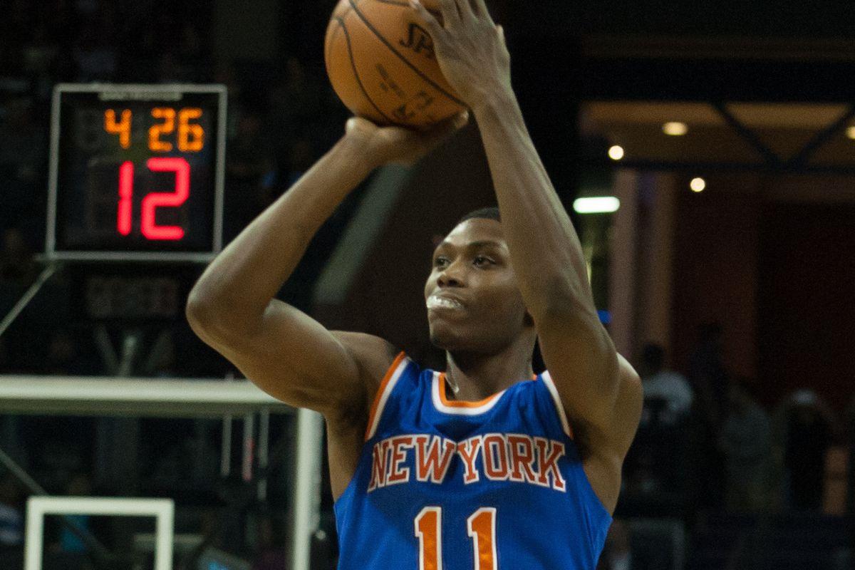 NBA: Preseason-New York Knicks at Charlotte Hornets