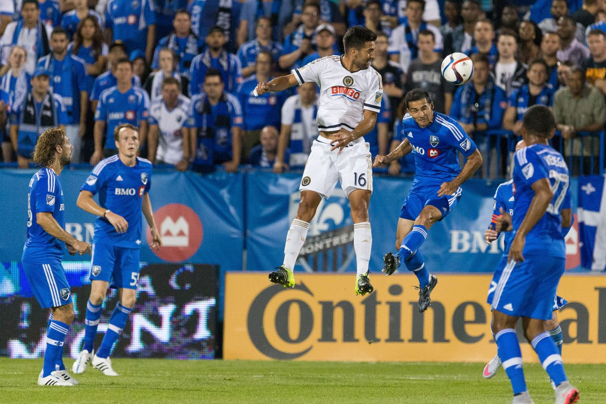 SOCCER: AUG 22 MLS - Union at Impact