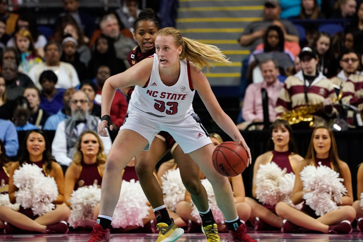 NCAA Womens Basketball: ACC Tournament: NC State vs Boston College