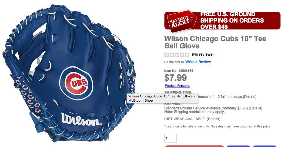 Chicago Cubs Glove