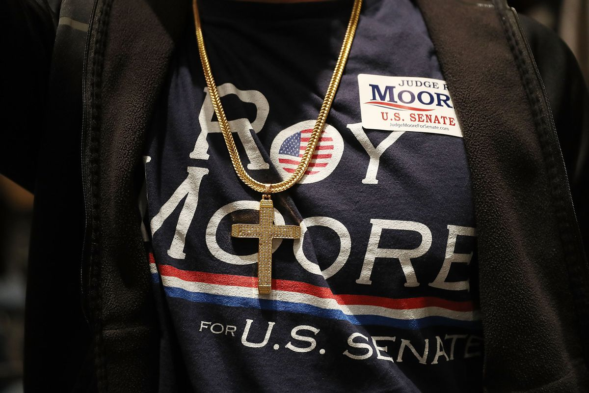 Alabama GOP Senate Candidate Roy Moore Holds Election Night Party