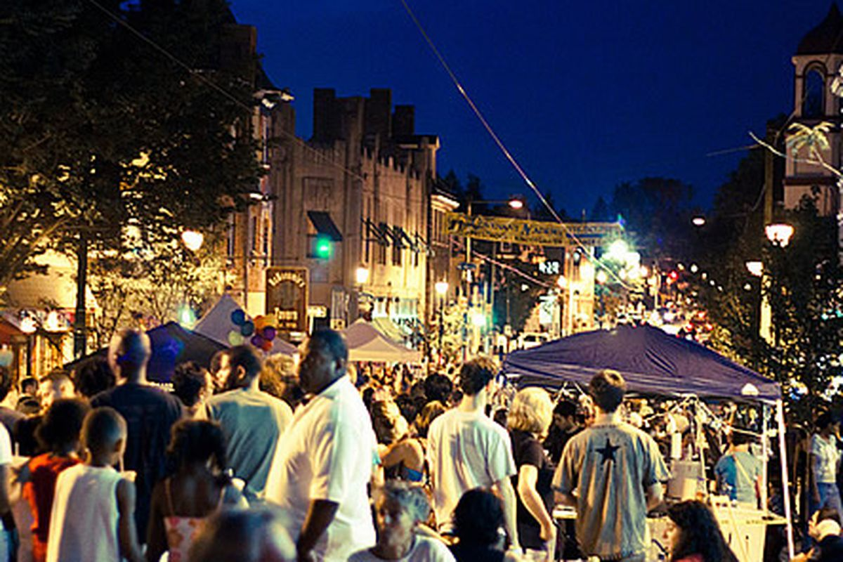 The Night Market in Mt. Airy