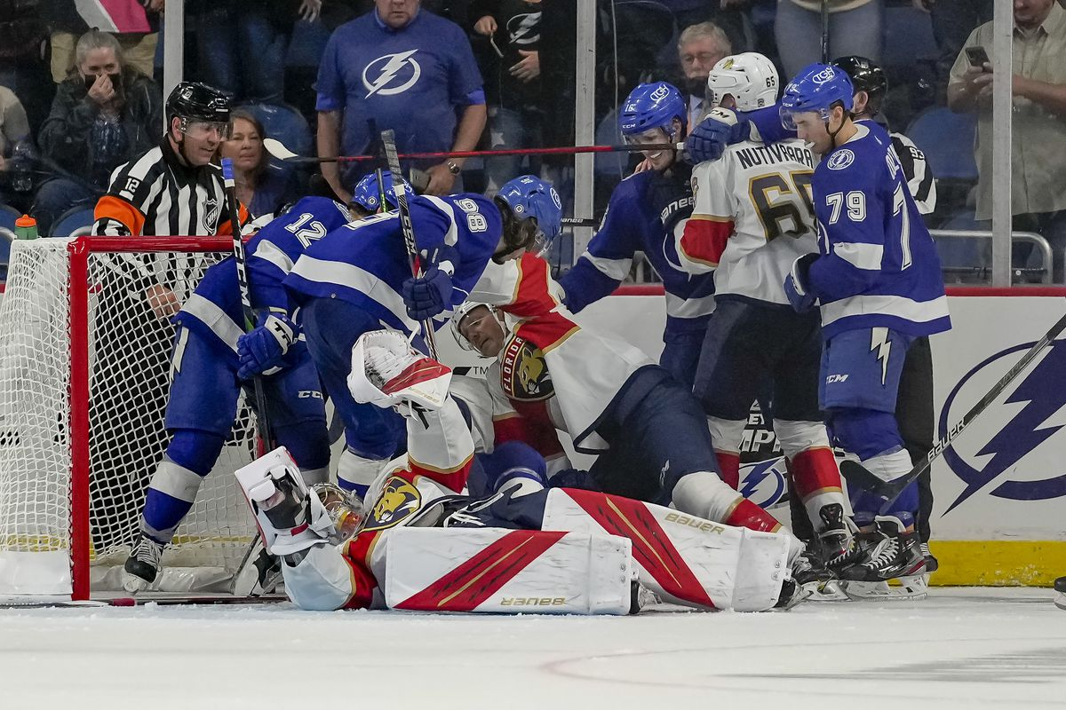 NHL: OCT 05 Preseason - Panthers v Lightning