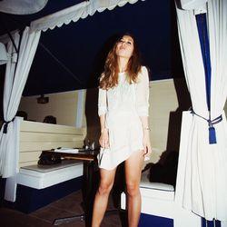 "Rumi of <a href=""http://www.fashiontoast.com/2013/03/white-night.html"">Fashion Toast</a> is wearing a ba&sh shirt, an <a href=""http://www.barneys.com/IRO-Irwin-Skirt/00505025668957,default,pd.html"">Iro Irwin</a> skirt and $1,250 <a href=""http://www.neima"
