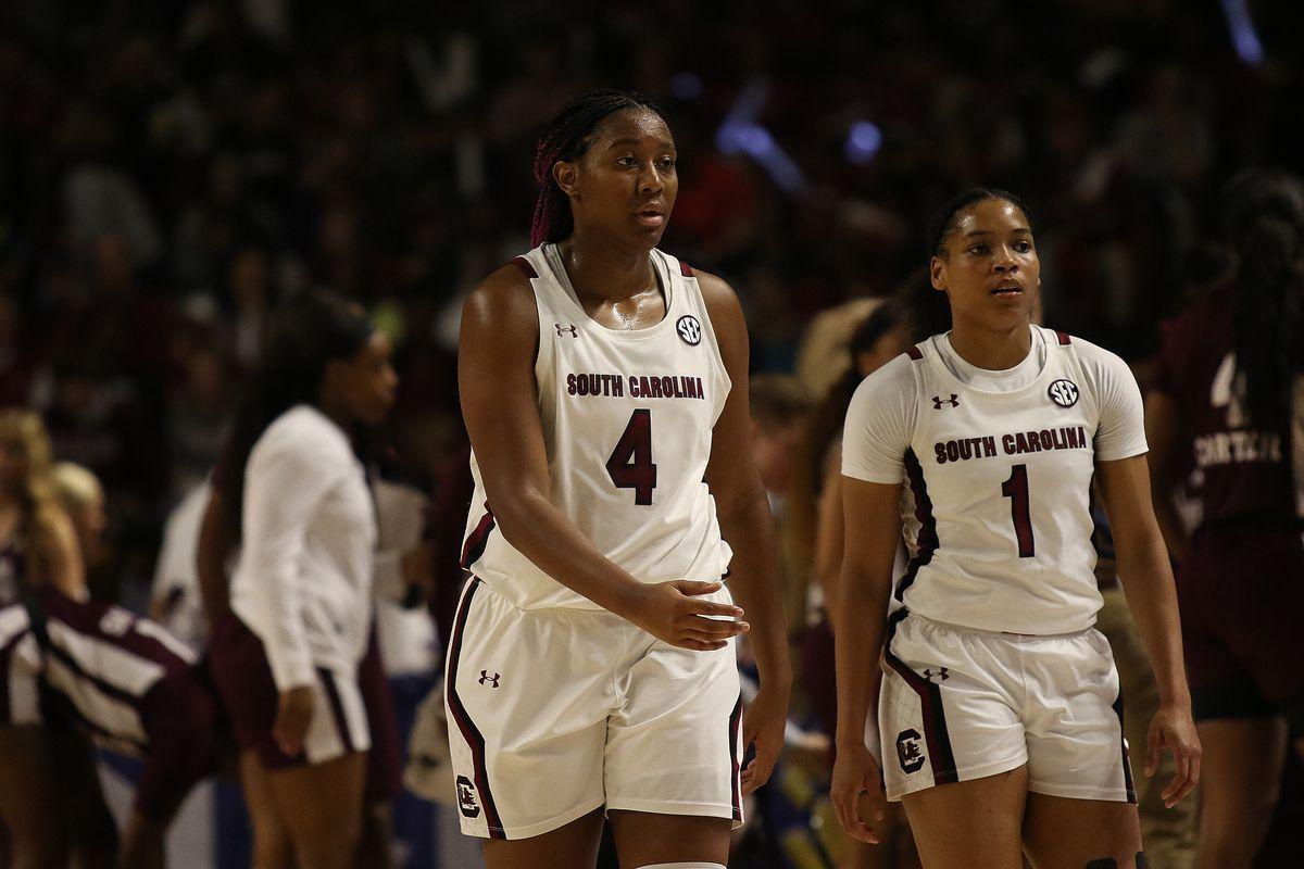 COLLEGE BASKETBALL: MAR 08 SEC Women's Tournament - Mississippi State vs South Carolina