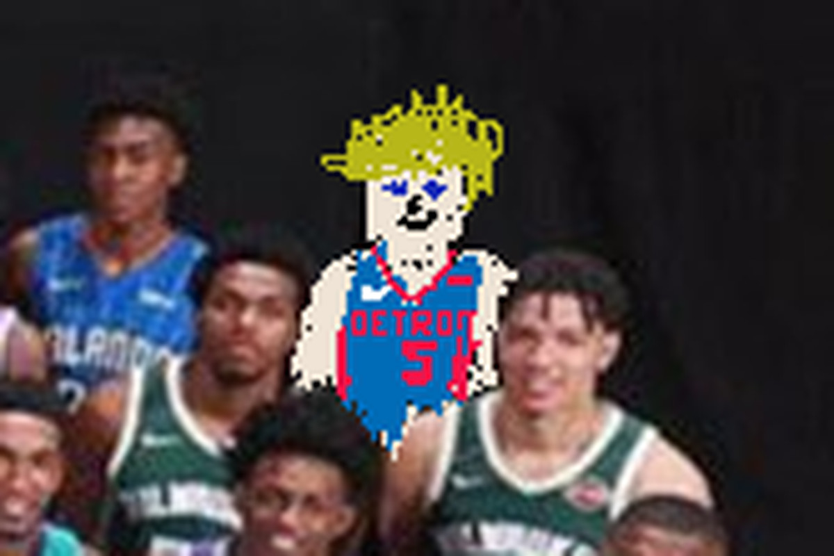 Luke Kennard missing from NBA rookie photo so we drew him in ... ab20d14c3