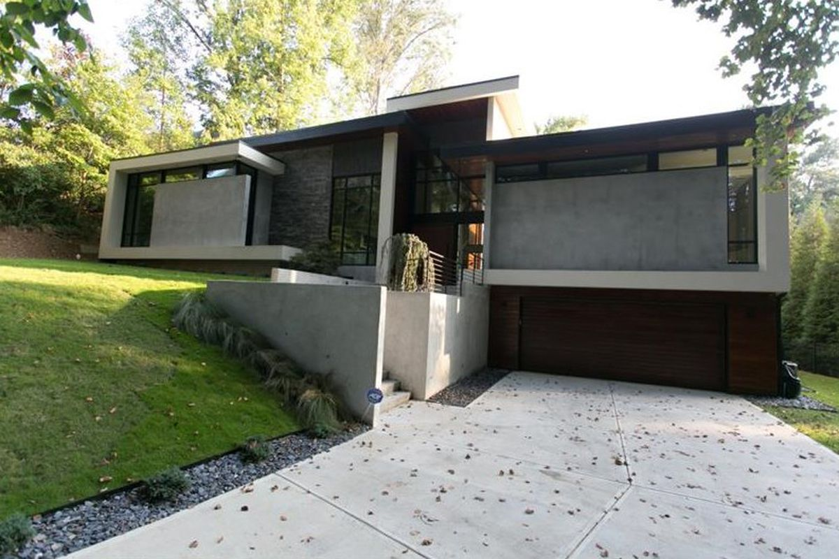 A new modern home for sale in Buckhead.