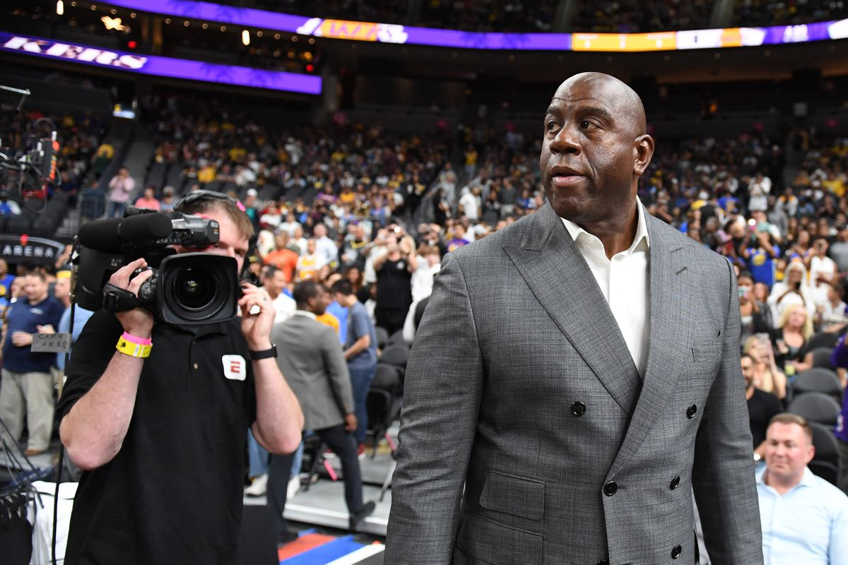 Joey and Jesse Buss wanted more power with the Lakers, so Magic Johnson took them under his wing