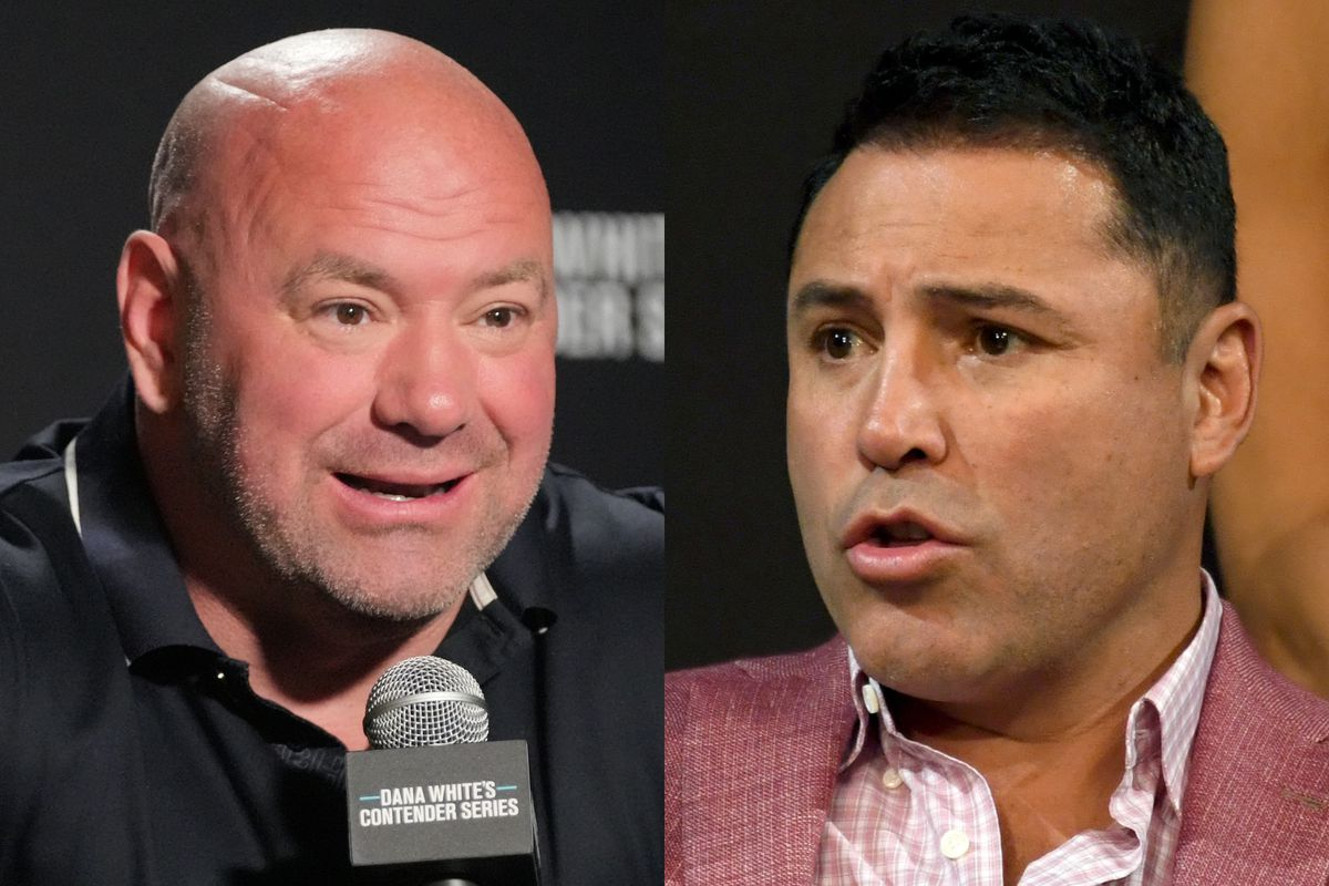 Dana White and Oscar De La Hoya are going at one another yet again.