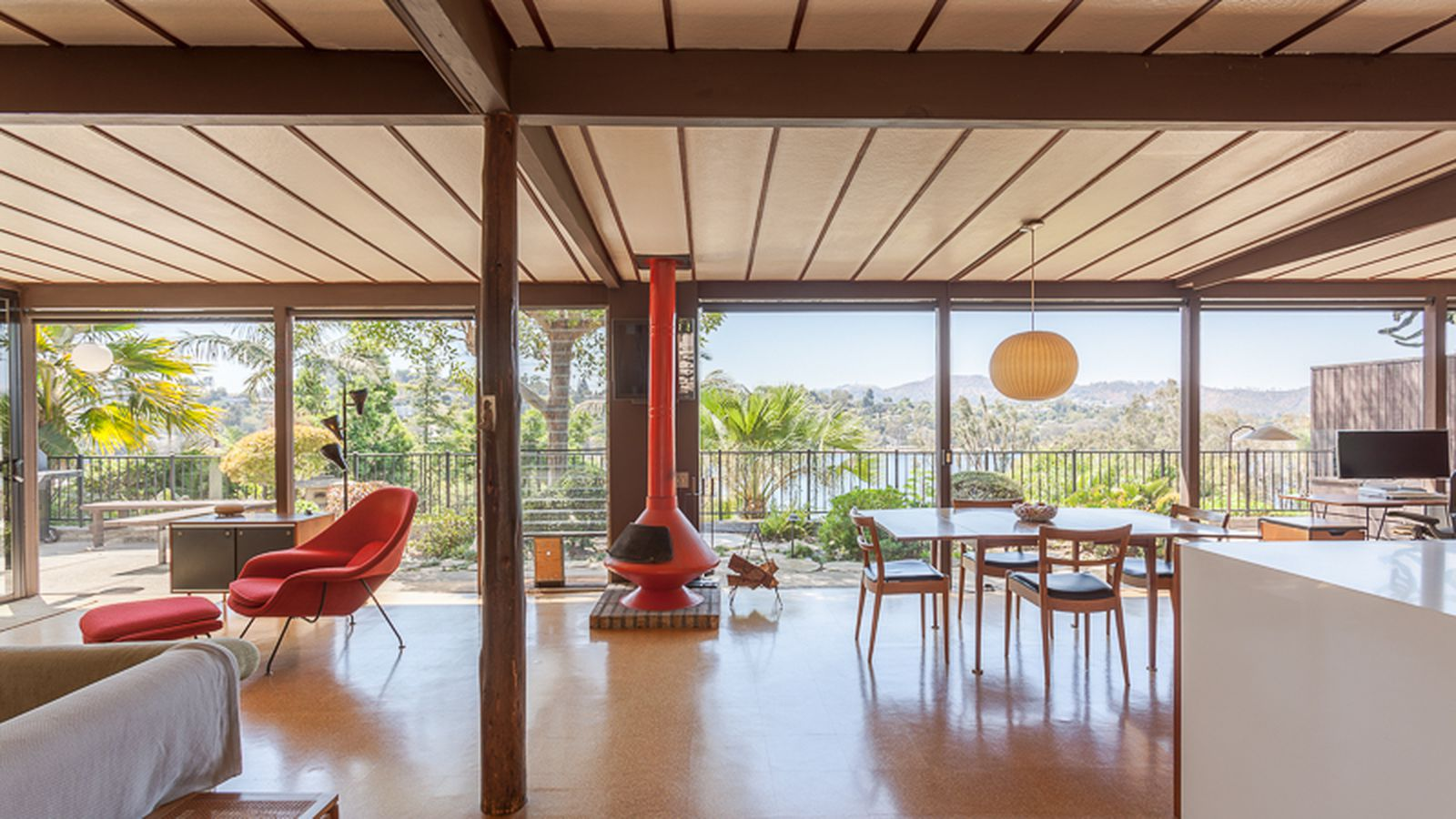 Rent A Landmarked Midcentury Modern Above The Silver Lake