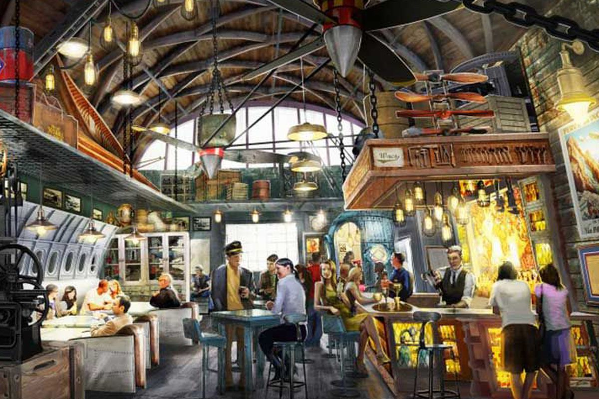 Disney S Indiana Jones Themed Bar Throws Open Its Doors
