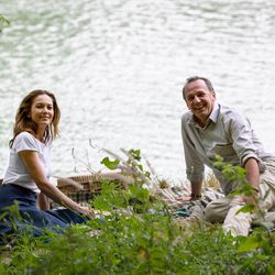 """From left, Diane Lane as Anne Lockwood and Arnaud Viard as Jacques Clement in """"Paris Can Wait."""""""
