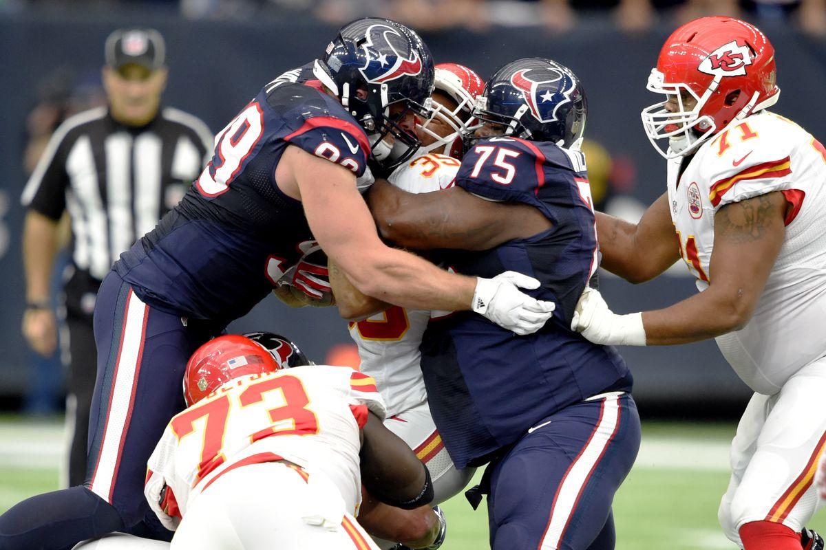 NFL: AFC Wild Card-Kansas City Chiefs at Houston Texans