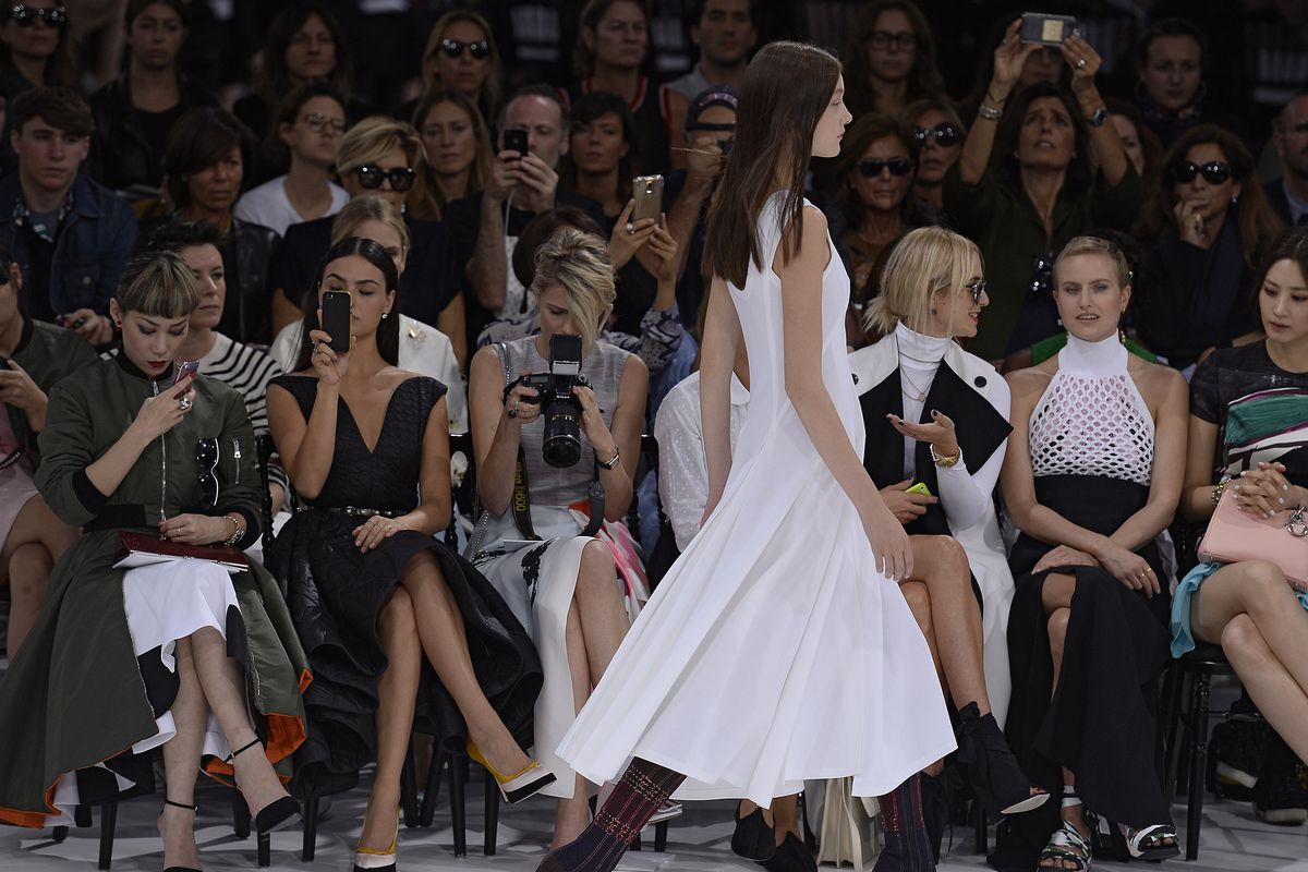 Dior's spring 2015 ready-to-wear show.