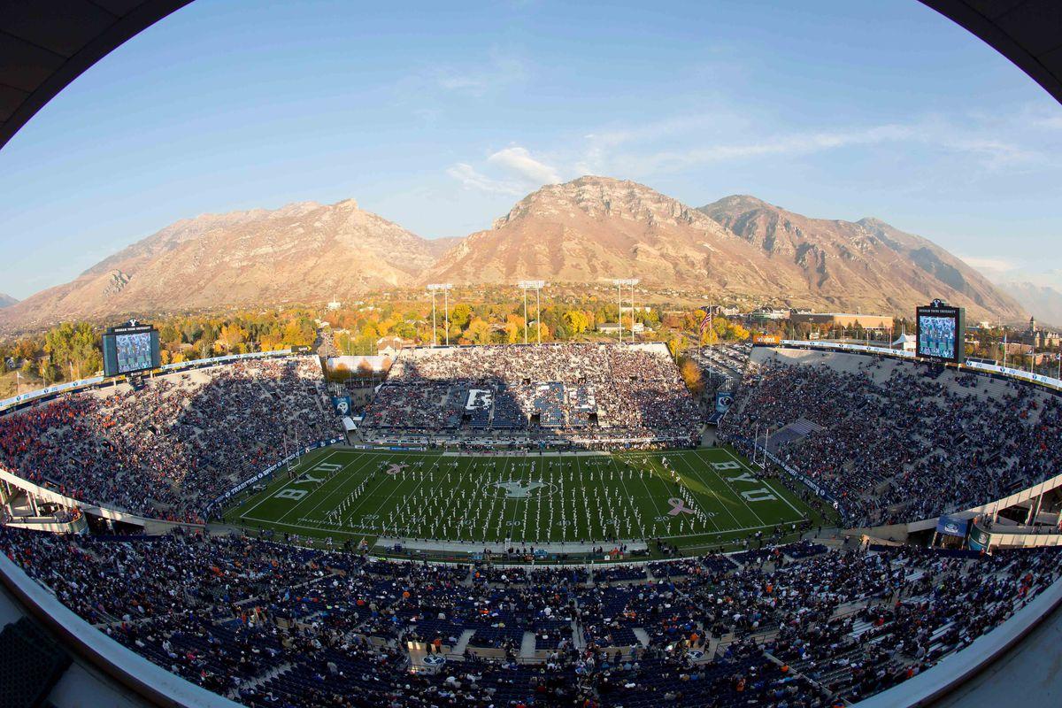 Lavell Edwards Stadium in Provo, Utah