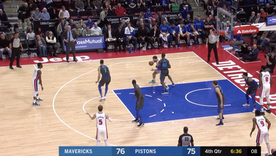Screen Shot 2019 02 01 at 8.39.53 AM - Blake Griffin and Reggie Jackson played the most miserable 13 seconds of hot potato basketball