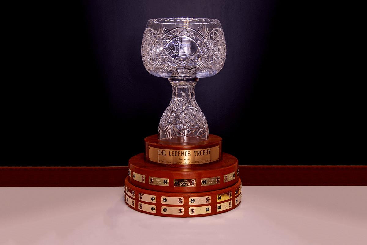 notre dame stanford legends trophy