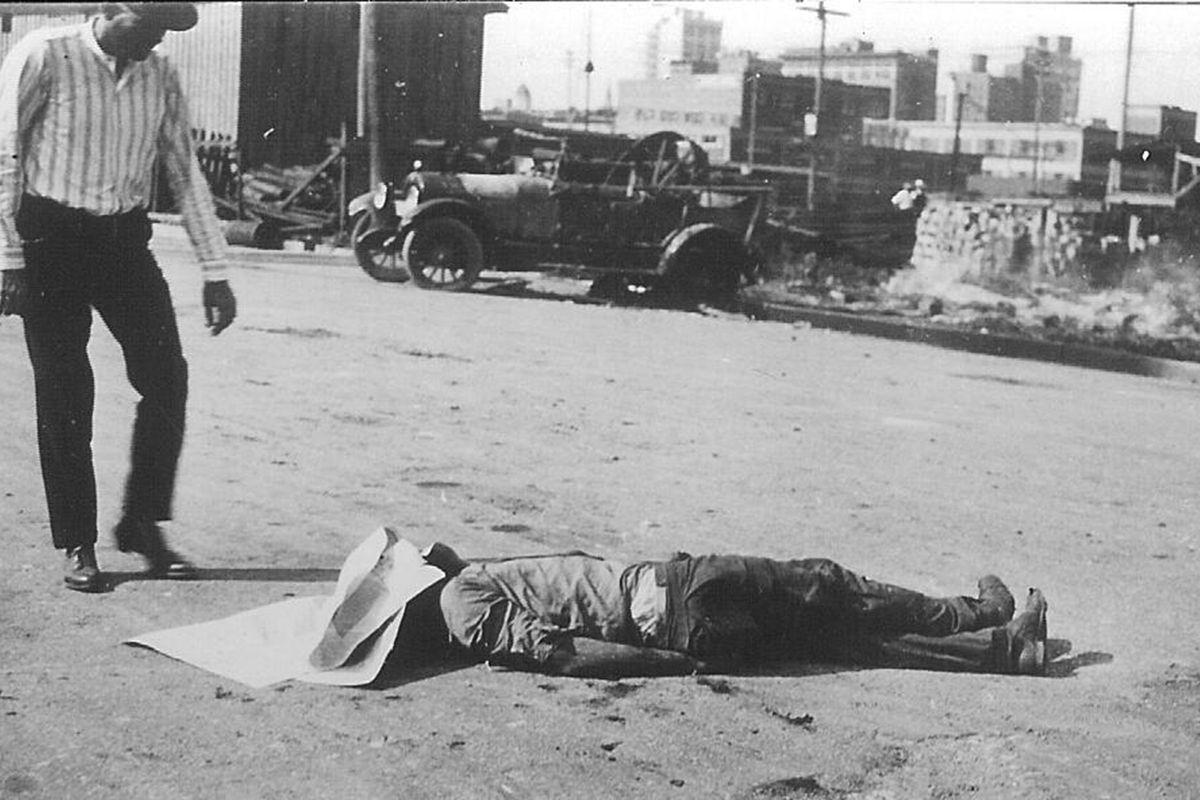 Tulsa massacre victim