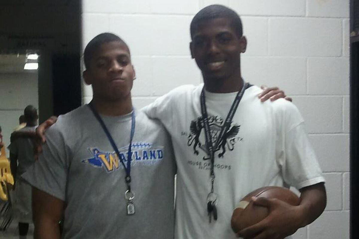 '13 QB commit JT Barrett (right) is a perfect fit for Urban Meyer's offense.