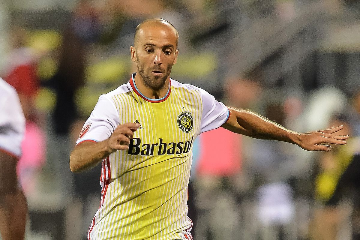 Federico Higuain had a tremendous game for Columbus on Saturday, helping his team earn a point on the road at Dallas.