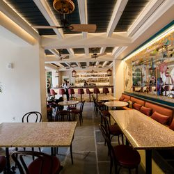 Bar area: