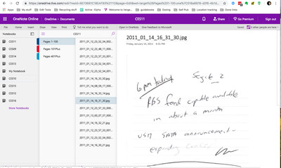 Microsoft OneNote migrate from Evernote